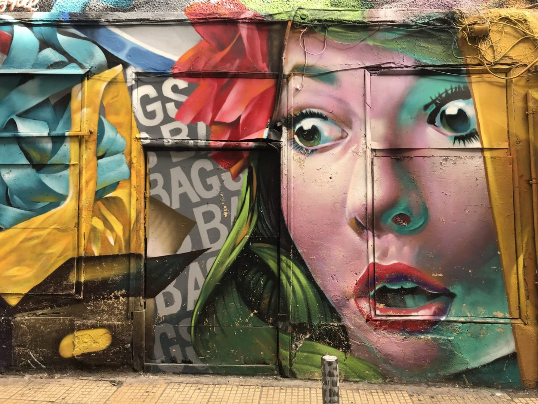 Studietur Athen Street Art