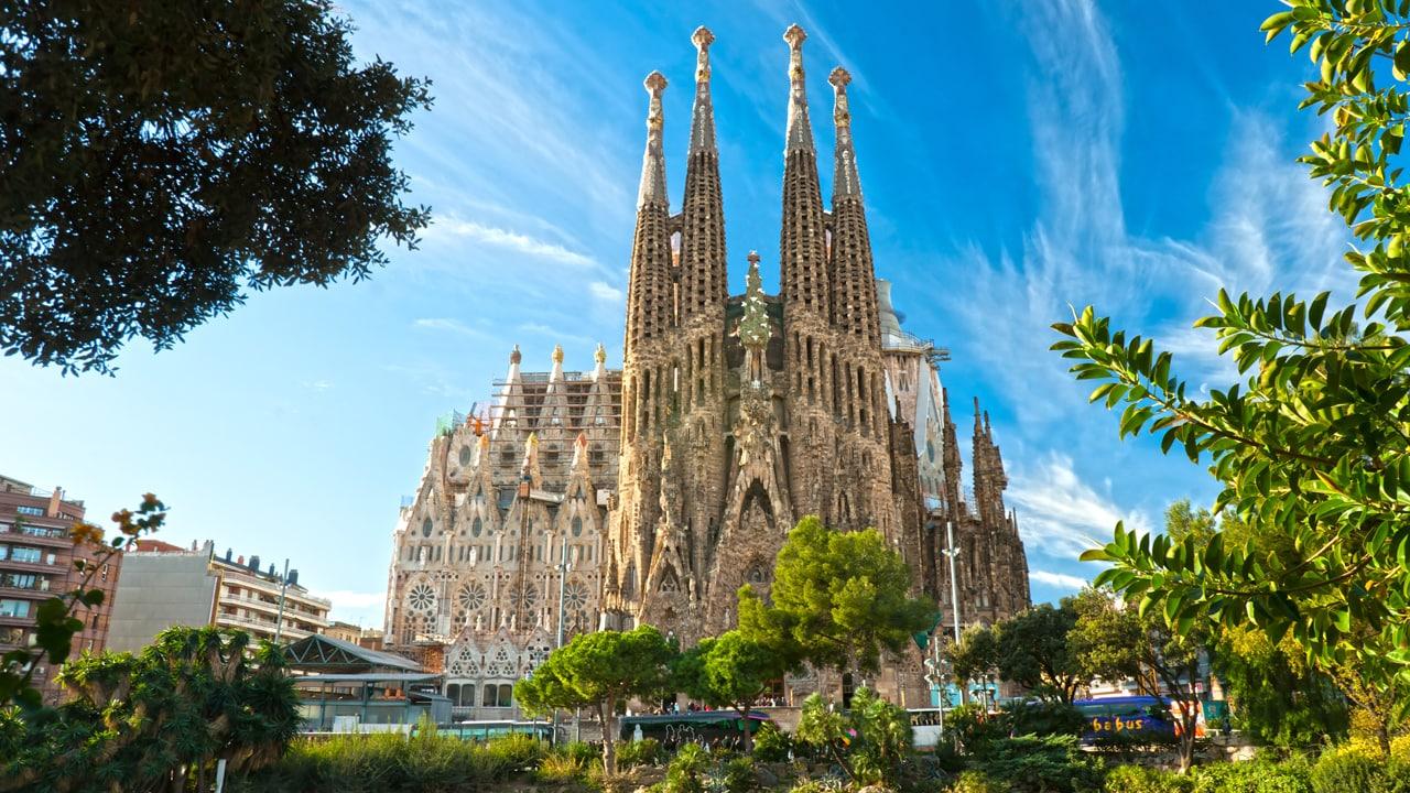 Studietur Barcelona La Sagrada