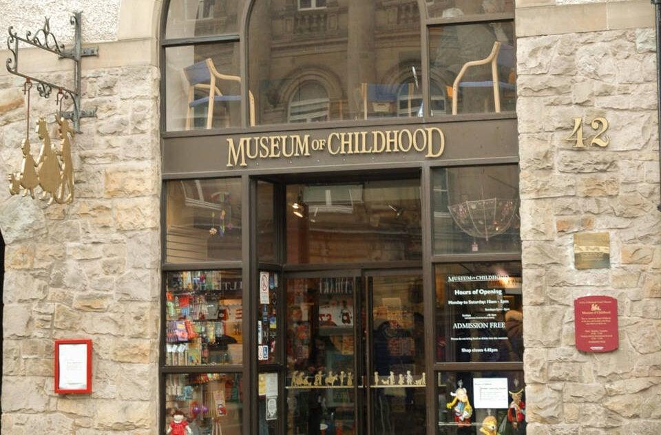 Studietur Edinburgh Museum of Childhood