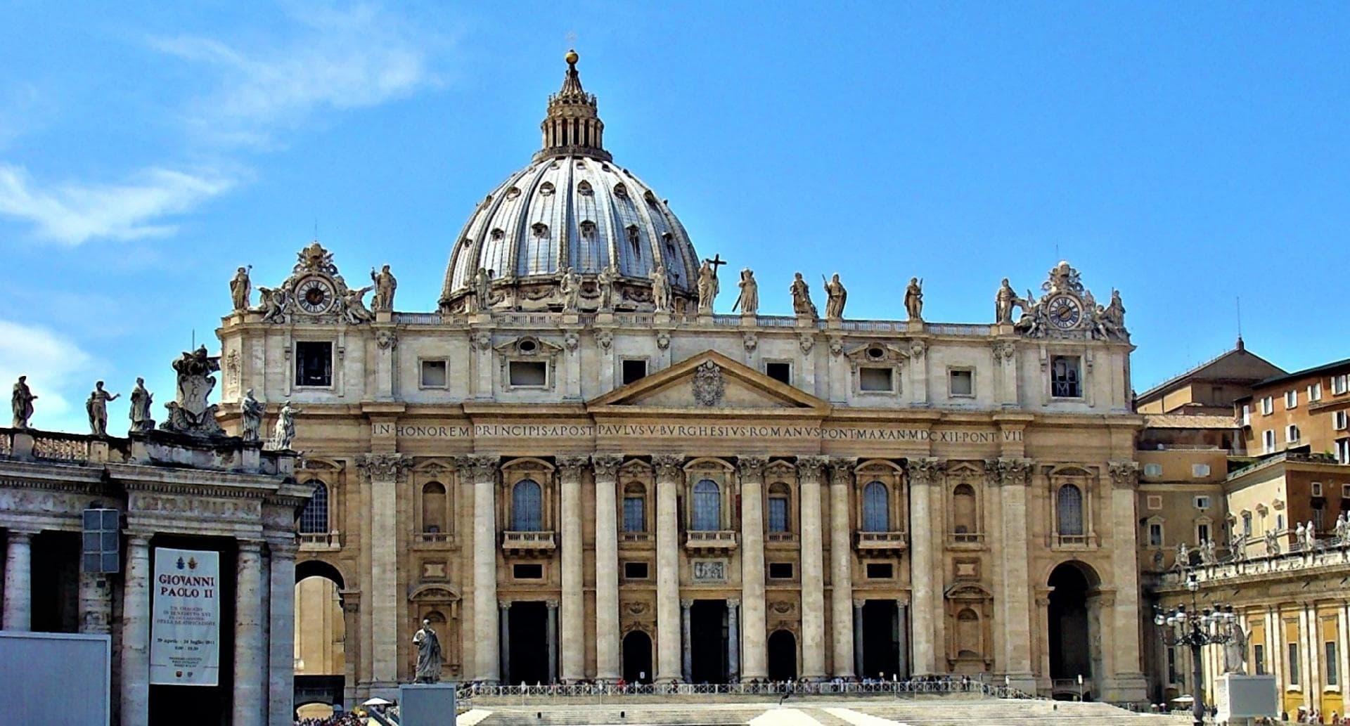 Peterskirken Rom Studiebesøg Basilica San Pietro