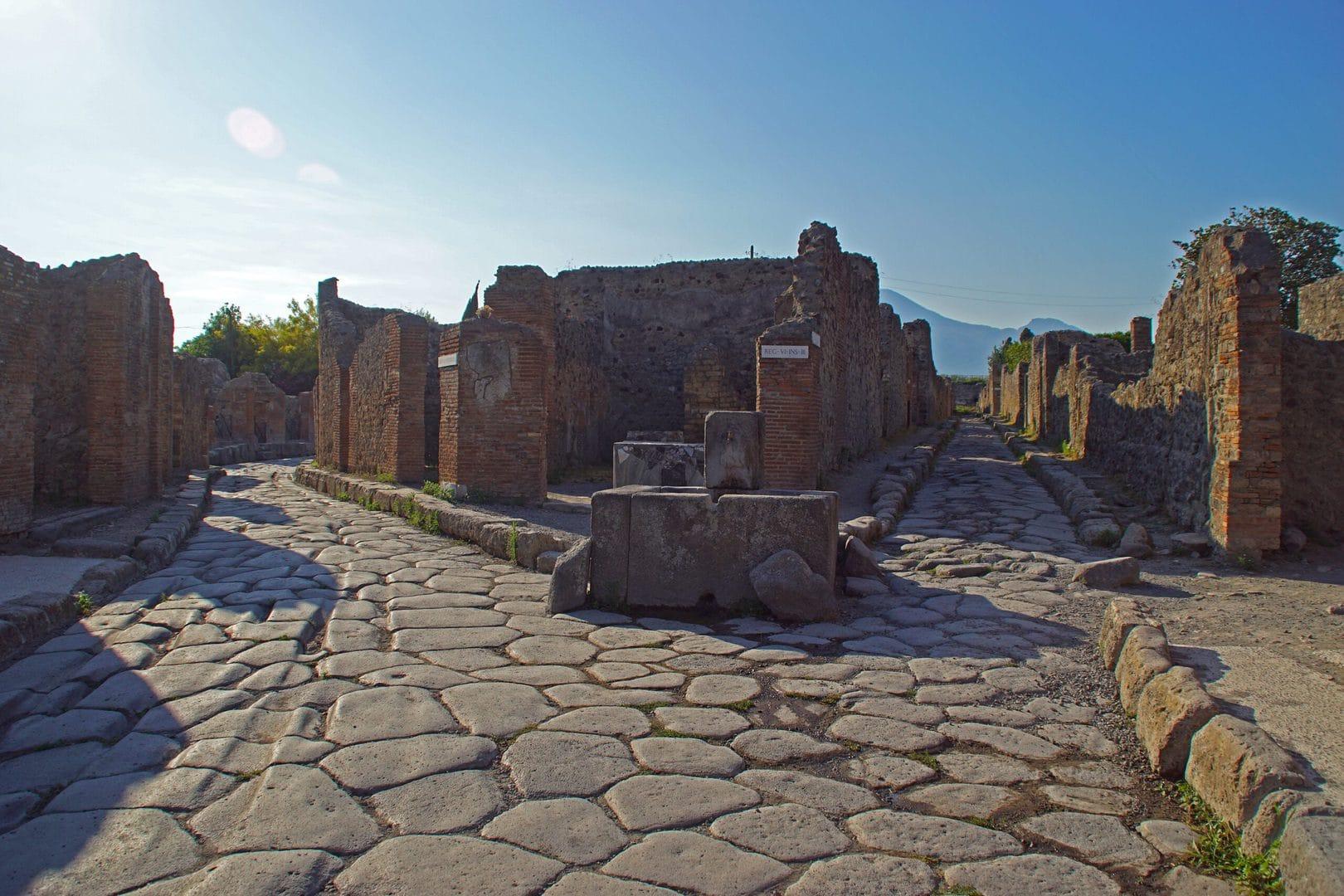 Studietur Napoli Pompeii