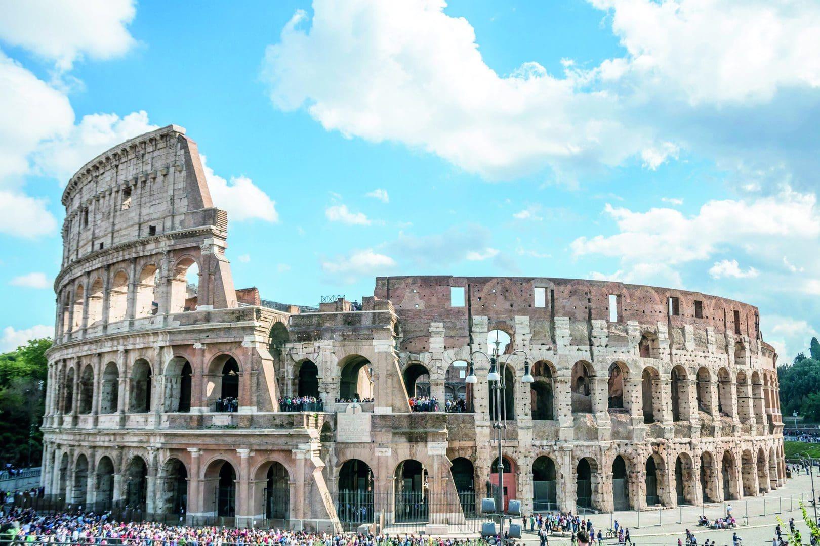 Colosseum Amfiteater Rom Studiebesøg