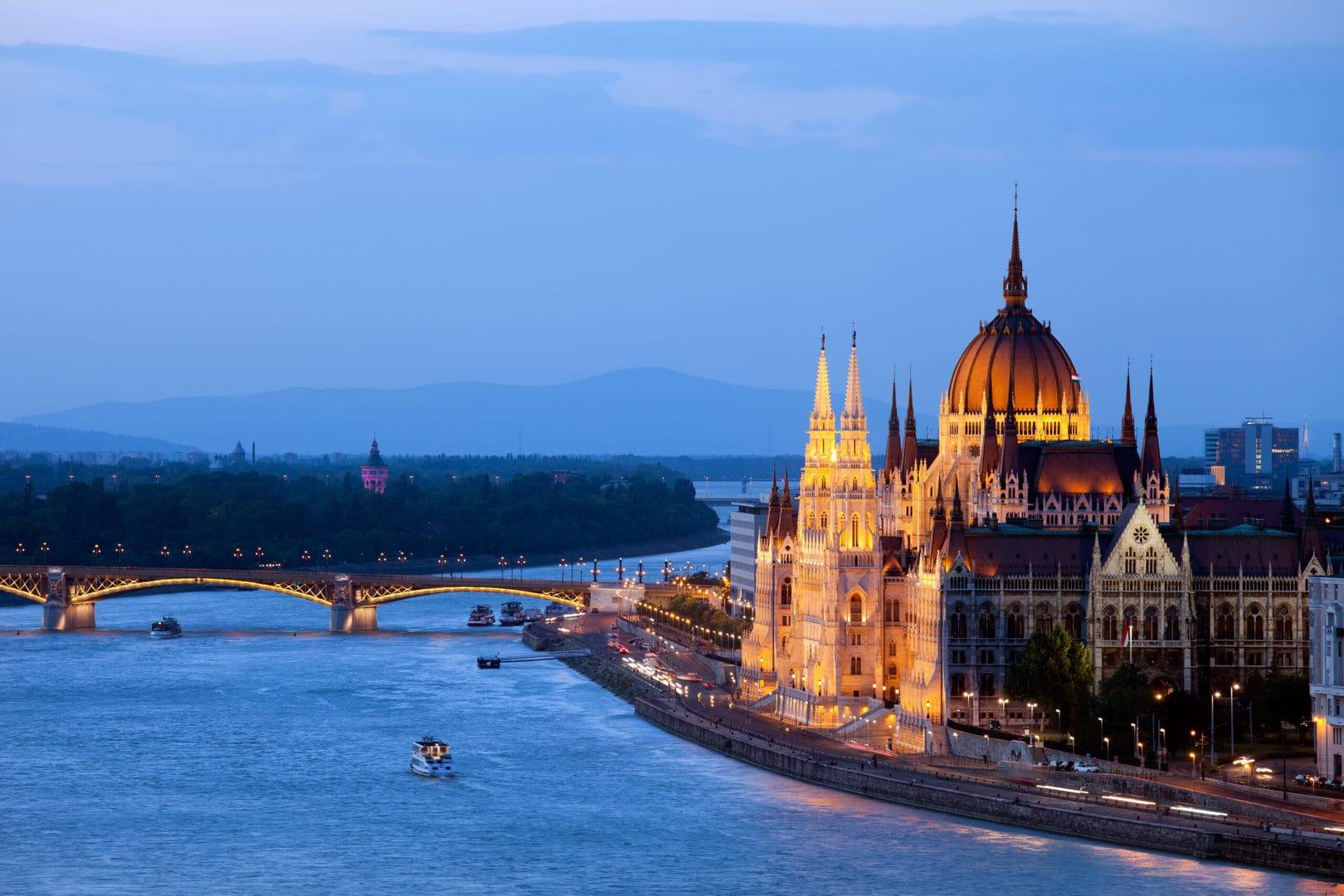 Studietur Budapest Donau