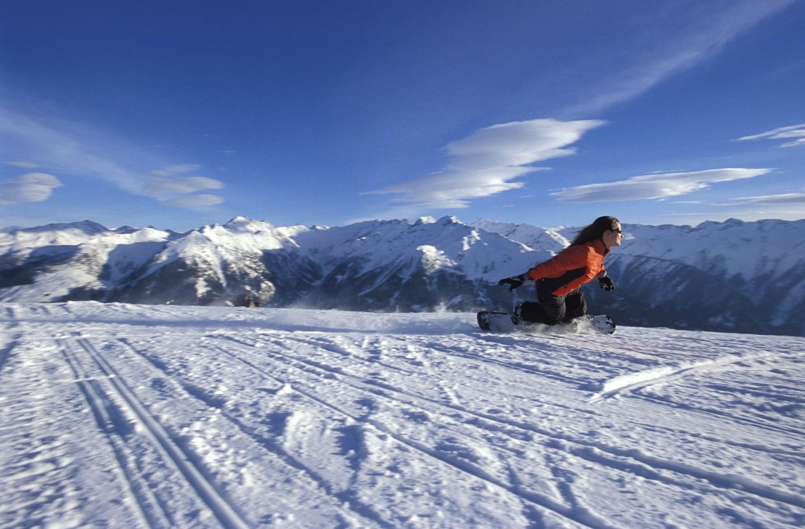 Studietur Neukirchen Snowboard