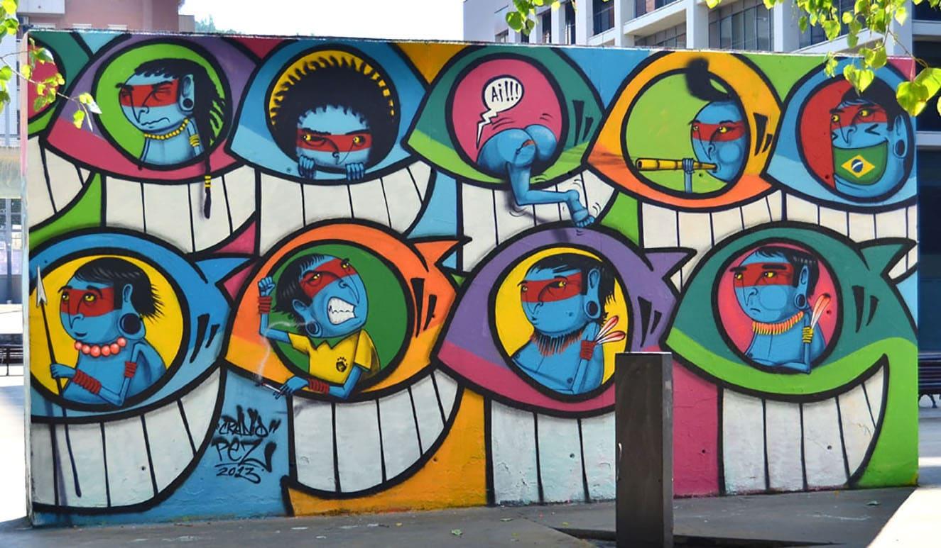 Studietur Barcelona Street art