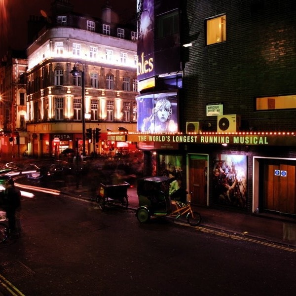 Studietur London teatre musical