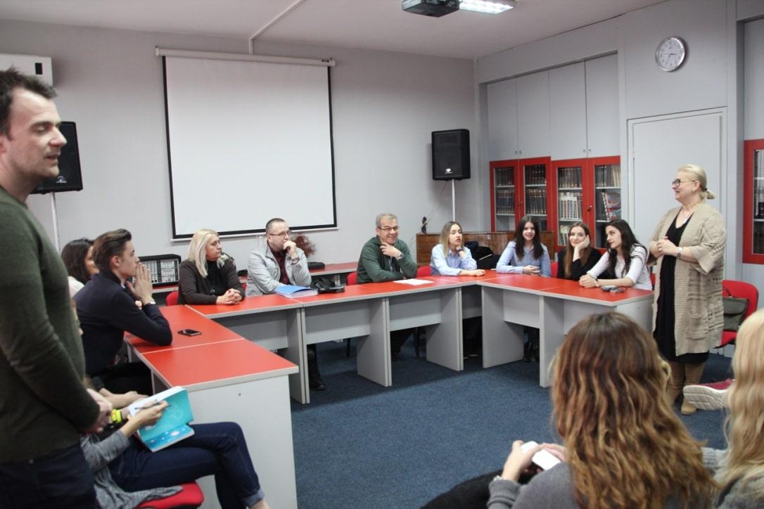Studietur Sarajevo skolebesøg