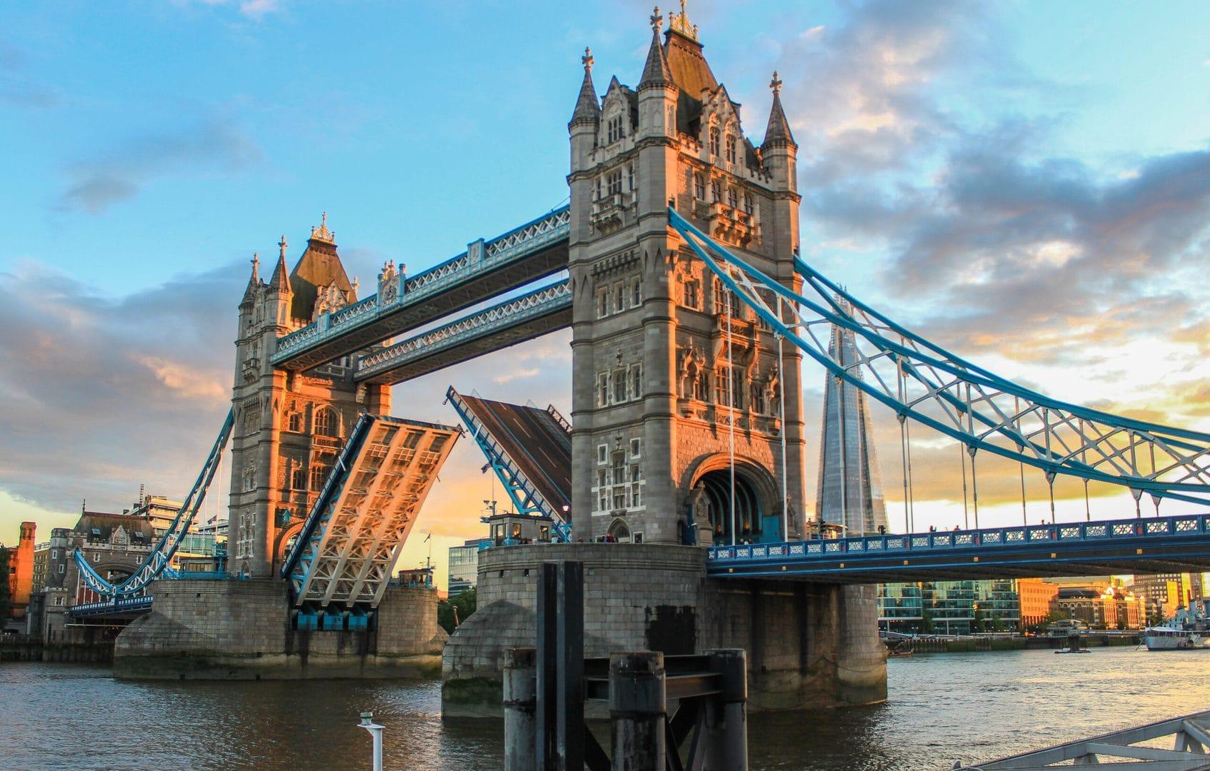 Studietur London Tower Bridge