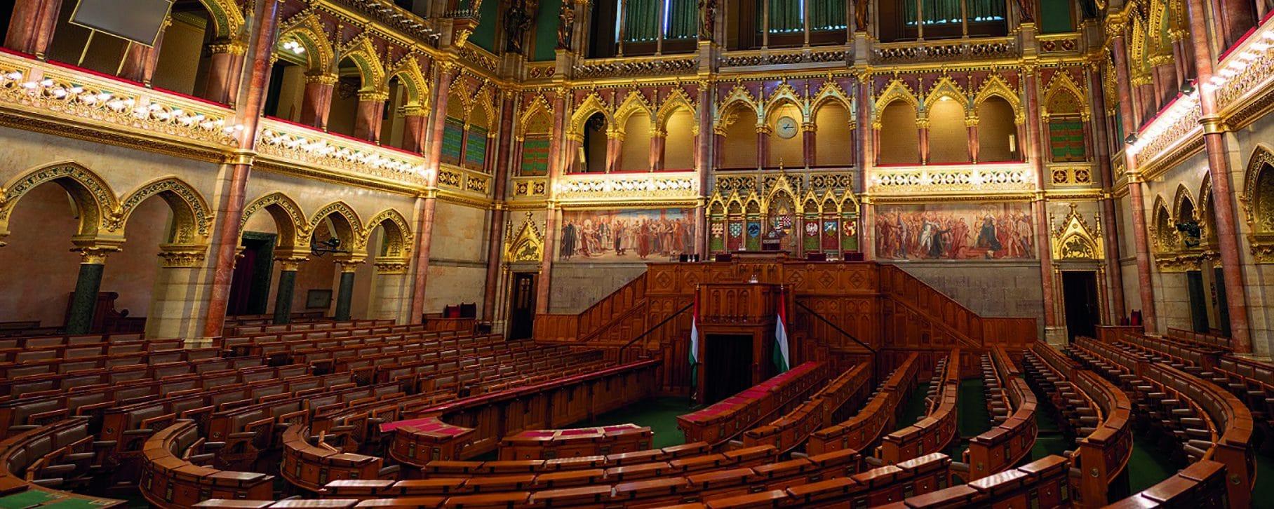 Studietur Budapest Parlament