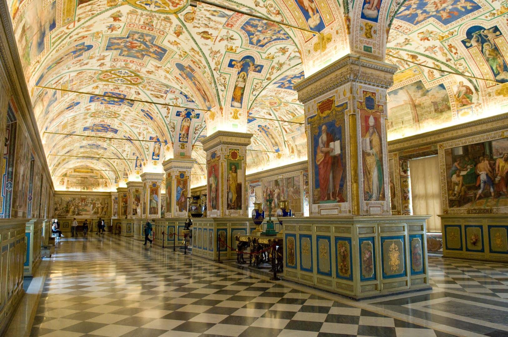 Vatikanmuseet Rom Studierejse Michel Angelo Sixtinske Kapel