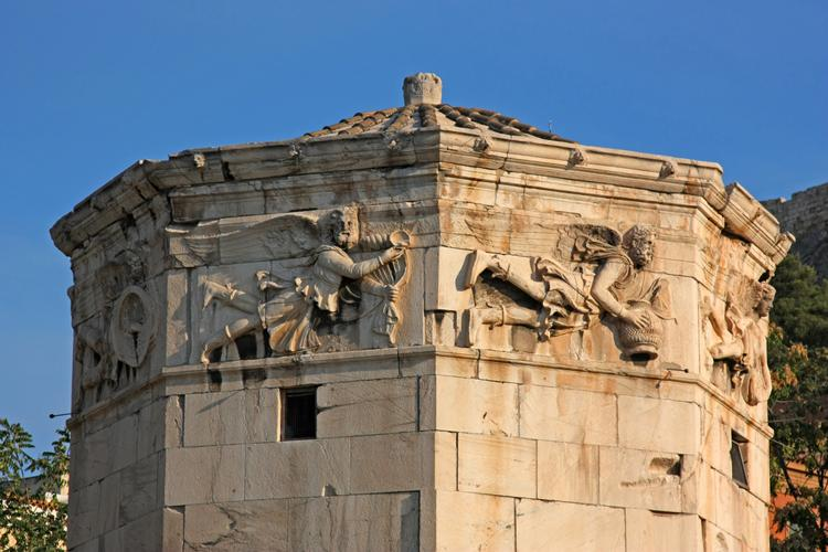 Studietur Athen Vindenes Tårn