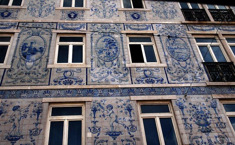 Studietur Lissabon tiles