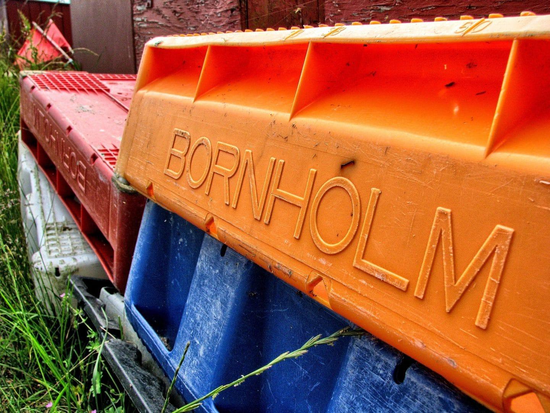 Studierejse til Bornholm - Skilt