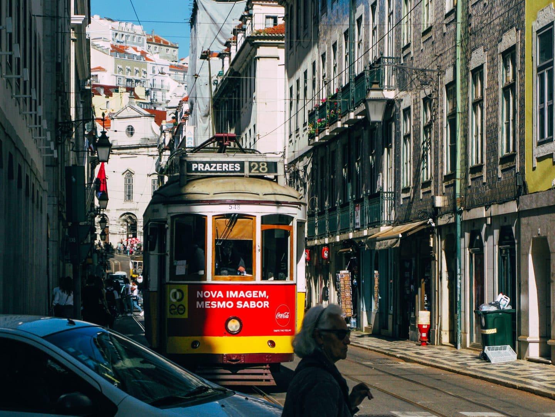 Studietur Lissabon Tram28