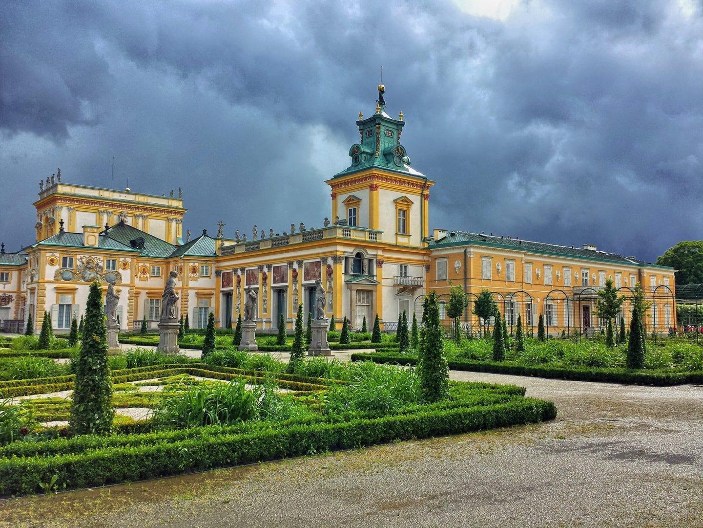 Warszawa_Wilanow paladset_polen