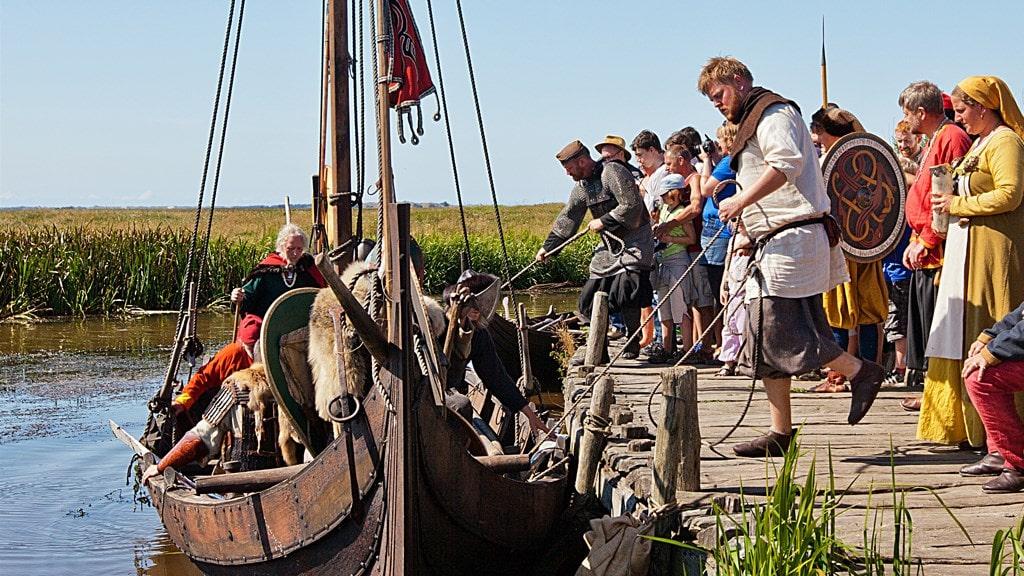 Studietur Vestjylland Bork Vikingehavn