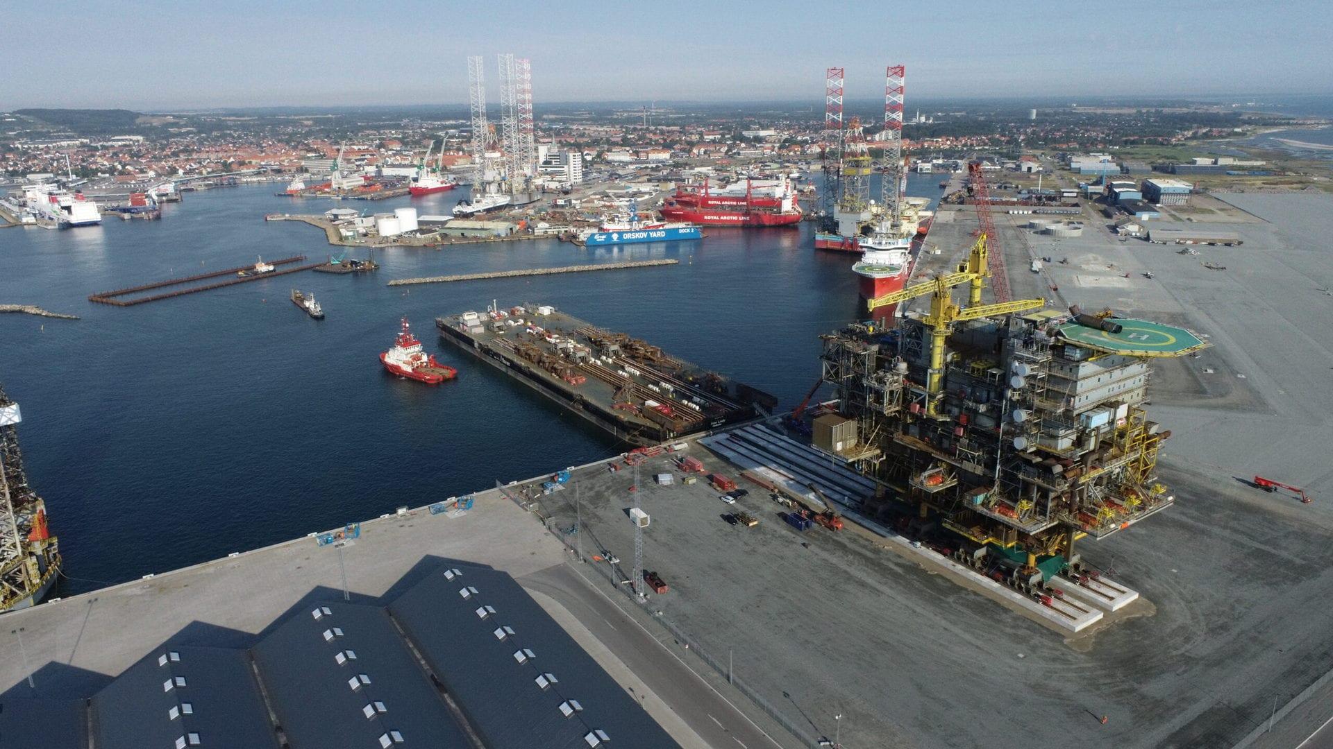 Studietur Nordjylland Frederikshavn havn