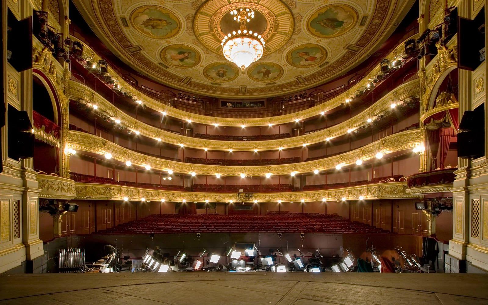 Studietur København Kgl teater gamle scene