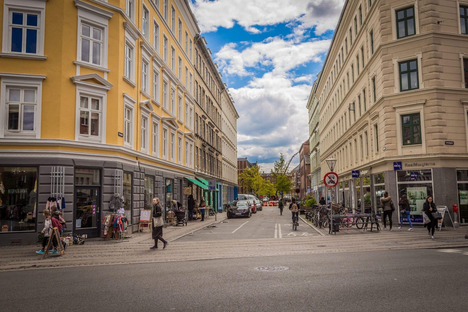 Studietur København den sociale shoppinggade