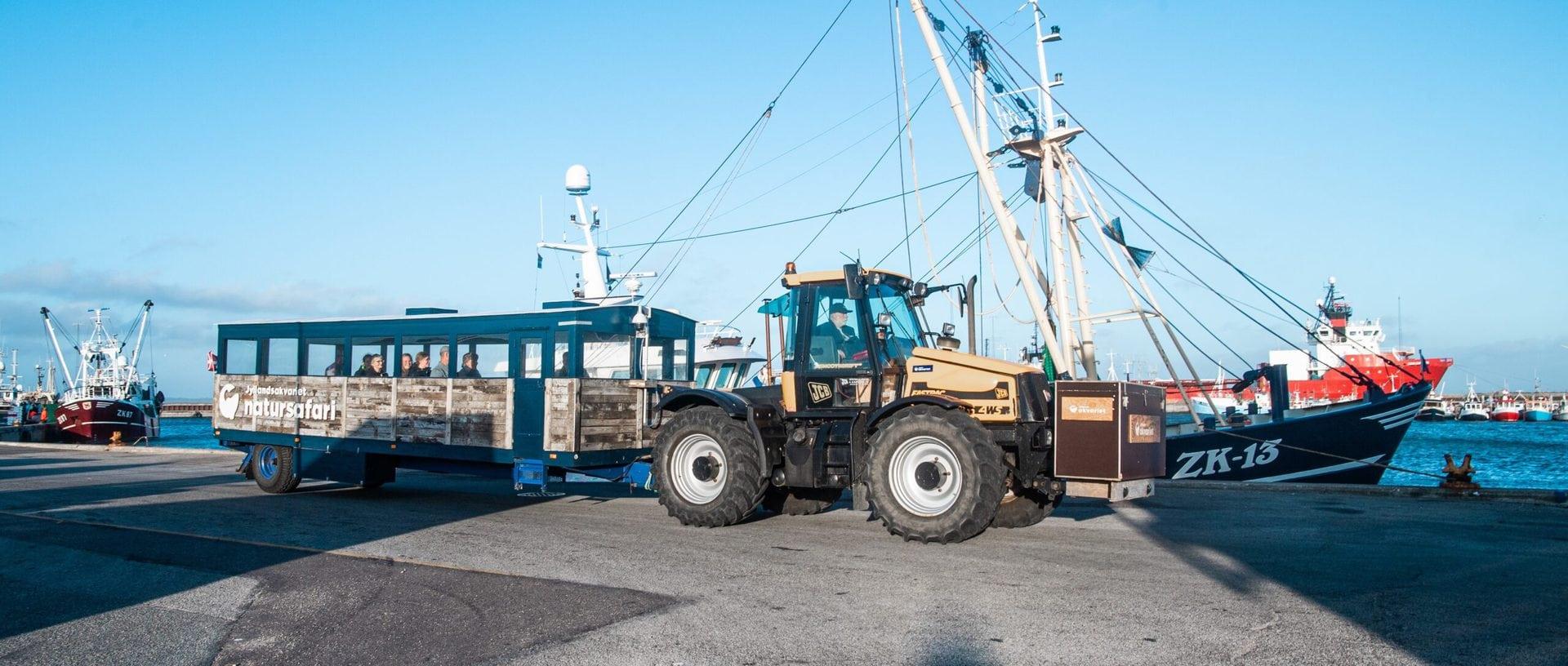 Studietur Vestjylland Traktortur Thyborøn